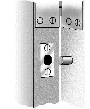 Security Issue Exterior Doors With Exterior Hinges