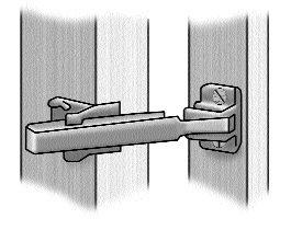 Door limiter or Door bar  sc 1 st  The Crime Prevention Website & Door chains and limiters | The Crime Prevention Website